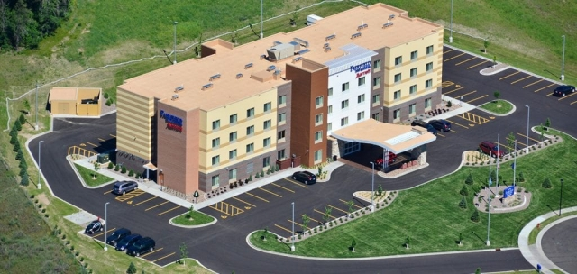 Fairfield Inn & Suites Site Design and Layout, Eau Claire, WI