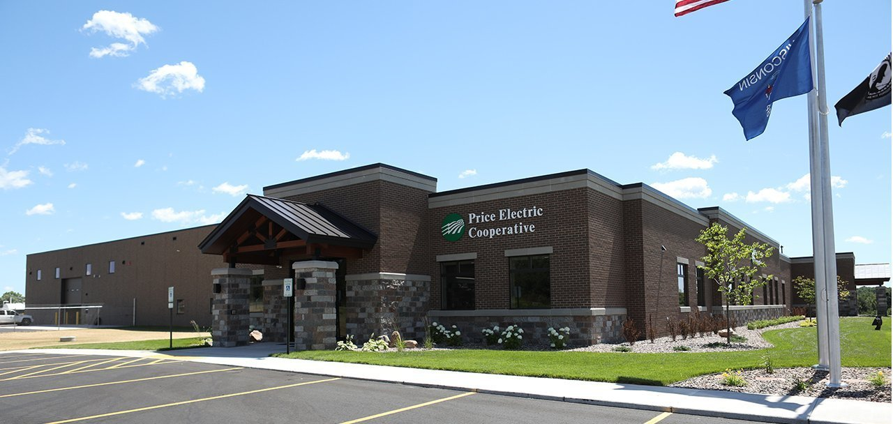 Price Electric Cooperative Site Design Phillips, WI